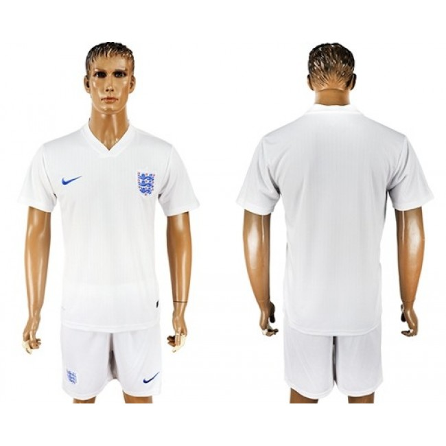 Nike/Adidas England Blank Home Soccer Country Jersey