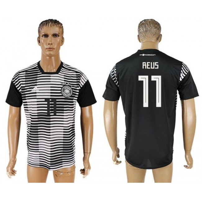 Nike/Adidas Germany #11 Reus Away Soccer Country Jersey