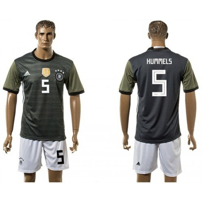 Nike/Adidas Germany #5 Hummels Away Soccer Country Jersey