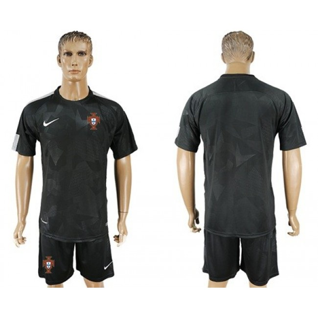 Nike/Adidas Portugal Blank Away Soccer Country Jersey